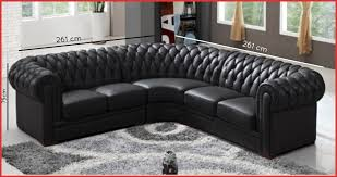canapé d angle capitonné canape d angle chesterfield cuir 58929 deco in canape d