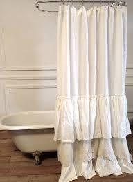 Black Ruffle Shower Curtain Lighthouse Shower Curtain Saturday Knight Limitedcoastal White