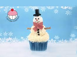 snowman cupcakes cute winter wonderland cupcakes a cupcake