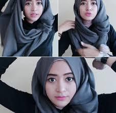 tutorial hijab pashmina untuk anak sekolah tutorial hijab pashmina casual minimalis acara semiformal pusat