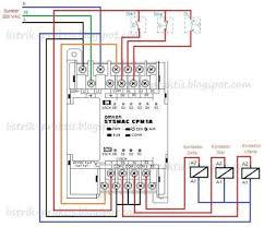 rangkaian delta motor listrik 3 fasa menggunakan plc listrik