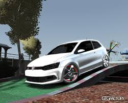 volkswagen polo white colour modified volkswagen polo gti stance 2011 download cfgfactory