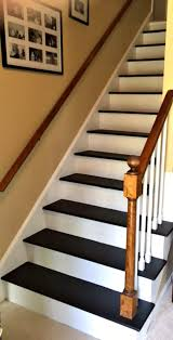 How To Refinish A Wood Banister To Remove Carpet From Stairs And Paint Them