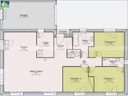 plan maison simple 3 chambres plan de maison plain pied 3 chambres gratuit mobokive org