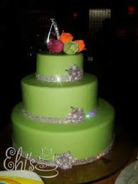Wedding Cake Green Ehi U0027s Sweet Talks Cakes