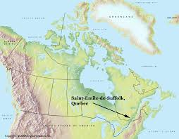 Quebec Canada Map St Emile De Suffolk Qc Planet Suffolk Bringing Together The