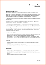 Template For A Business Plan Free Download 4 Formal Business Plan Sample Bussines Proposal 2017