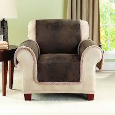 Sure Fit Club Chair Slipcovers Brown Vintage Leather Chair Slipcover Sure Fit Target