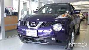 nissan purple see what u0027s inside the 2015 nissan juke sl youtube