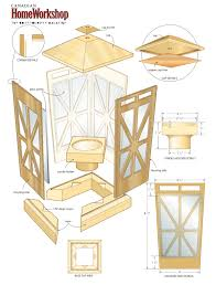 portavelas light up your yard with a candle lantern diy