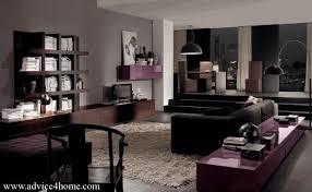 Black Fabric Sofa Sets Brown Living Room Designs Gray Wooden Laminate Desk Blue Fur Rug