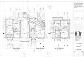 sample drawings rjr construction group vancouver renovations