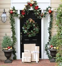White Christmas Door Decorations by 181 Best Decorating Doors For The Christmas Holidays Images On