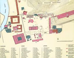 Ancient Map Of Greece by Ancient Olympia