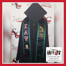 custom graduation sashes kappa alpha psi graduation stole