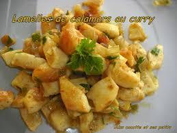 comment cuisiner le calamar lamelles de calamars au curry le de miss cocotte et ses