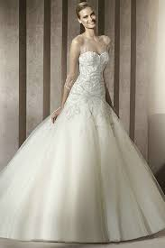 designer wedding gowns strapless scalloped satin designer wedding gowns with bow knot