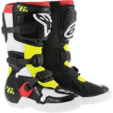 dirt bike racing boots amazon com alpinestars tech 6s youth boys off road motorcycle