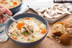 easy leftover turkey soup