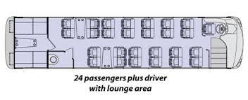 the synergy coach bus floor plans