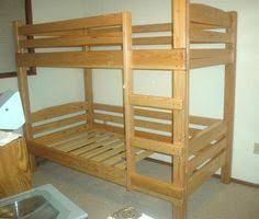 Easy Strong Cheap Bunk Bed DIY Wood Projects Pinterest - Simple bunk bed plans