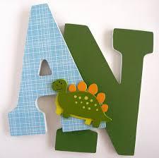 Dinosaur Bedroom Ideas Wooden Letters For Nursery Dinosaur Theme Custom Decorated
