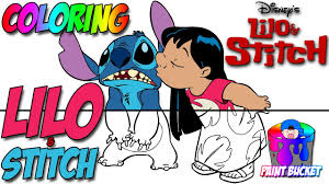 lilo stitch coloring pages disney coloring book kids