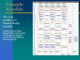 printables time management worksheets for college students