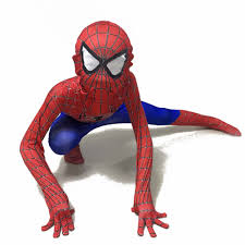 online buy wholesale spiderman classic costume from china
