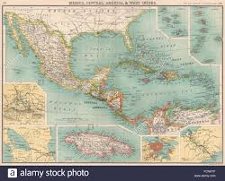 Map Of West Indies Map Of Central Panama Stockfotos U0026 Map Of Central Panama Bilder