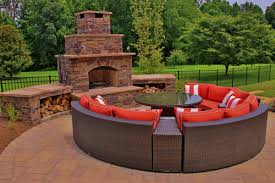 Outdoor Fireplaces And Firepits Fireplaces Pits