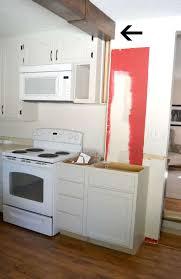 kitchen makeover 2015 remove half wall extend beam u0026 add