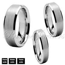 mens cheap wedding bands men s tungsten rings ebay