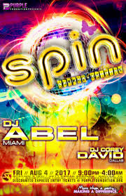 spin summer edition 2017 dj abel tickets fri aug 4 2017 at