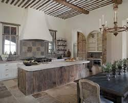 wood kitchen island weathered wood island kitchens
