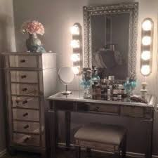 bedroom vanity sets with lights foter pertaining to mirror set