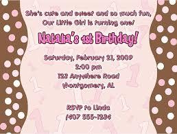 polka dots invitations trendy pink brown polka dots 1st birthday girl party invitations