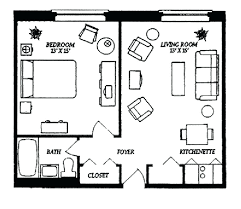 small apartment floor plans one bedroom small apartment floor plan