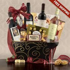 wine gift baskets free shipping italia vino wine gift basket capalbos gift baskets