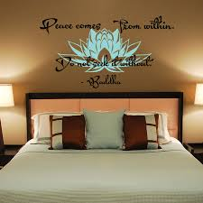 wall decal peace comes from within do not seek it without zoom