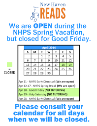 Sample Resume For Tutors by Tutoring Schedule During The Nhps Spring Break New Haven Reads