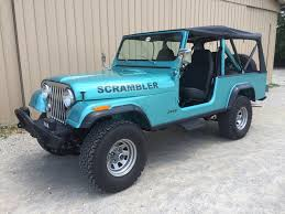 jeep scrambler hardtop 50 of the coolest and probably the best trucks and suvs ever made