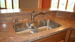 glossy black countertops super cool kitchen sink design stainless