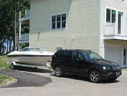 towing with bmw x5 wakeboarder bmw x5 and infinity fx towing