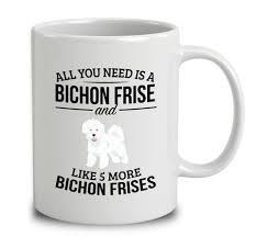 bichon frise intelligence bichon frise mugs