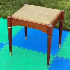 vintage singer sewing machine cabinet bench stool chair seat