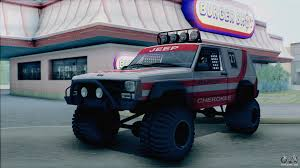 jeep banshee jeep cherokee 1998 off road 4x4 for gta san andreas