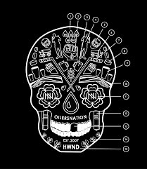 the oilersnation sugar skull anatomy of the nation