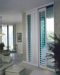 Bypass Shutters For Patio Doors Shutters On Patio Door Plantation Shutters For Sliding