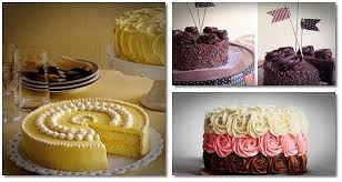 Different ways to decorate a cake at home